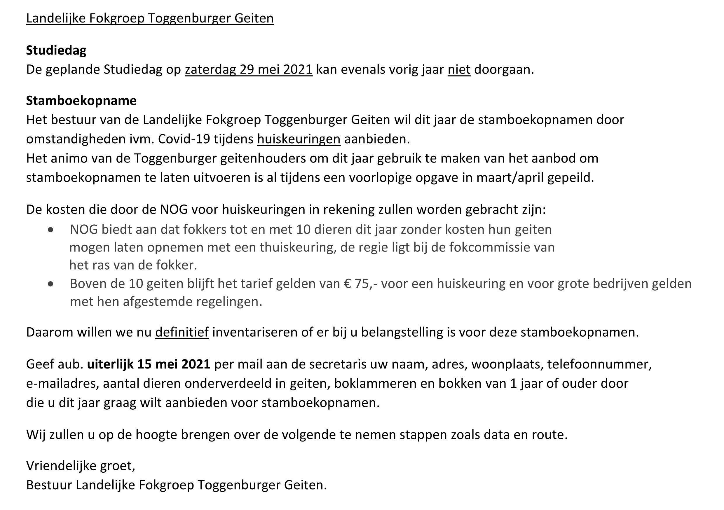 Toggenburger Fokgroep 2021-3 mei Oproep over stamboekopnamen 2021.page1